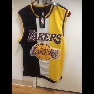 mens los angeles lakers Tank Jersey Size M
